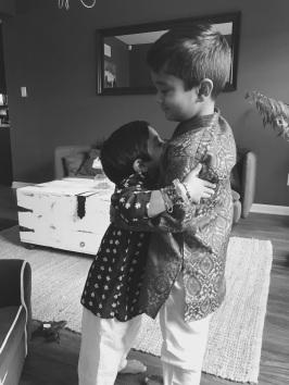 AriKrish hugs